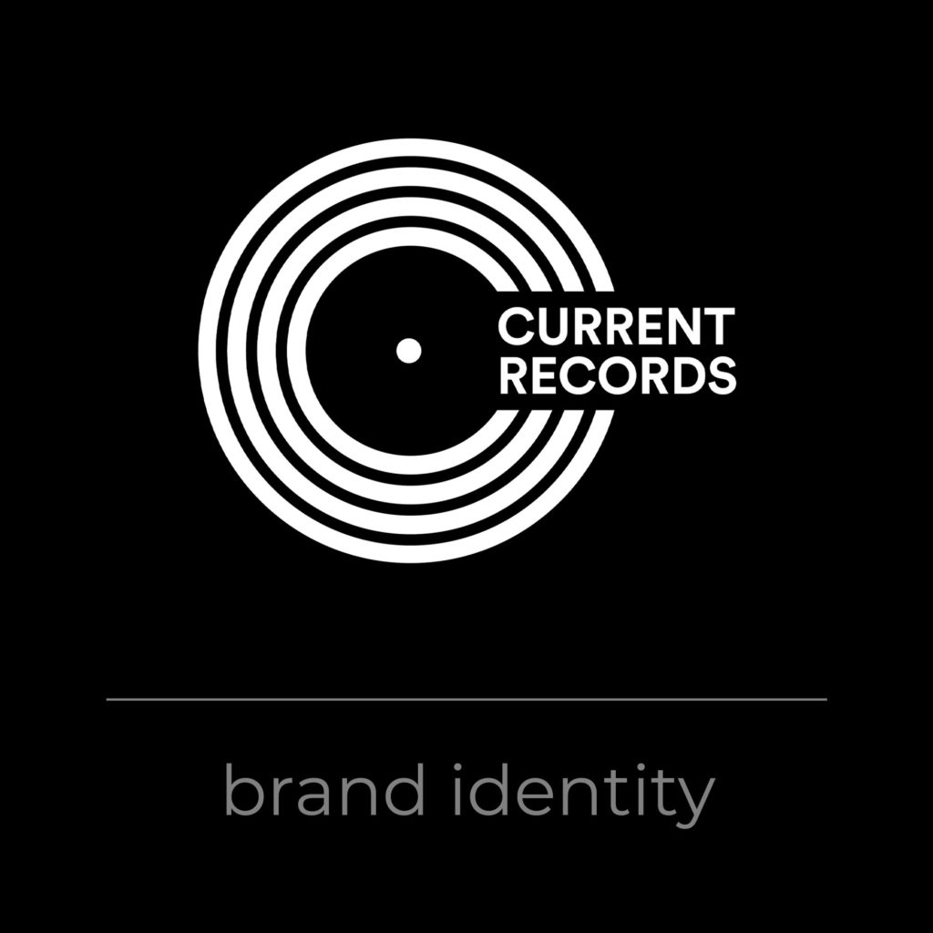 Current Records Brand Identity